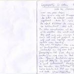 Loes logeert in Uden: een verslag van oma